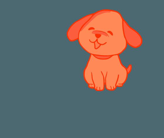собачка с логотипа Beauty Pets