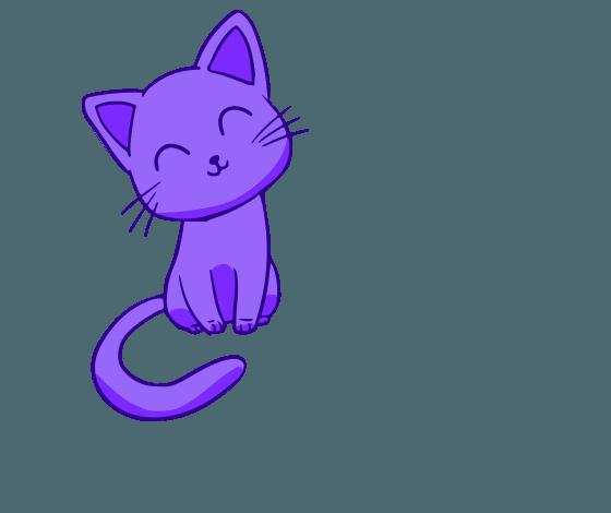 кошка с логотипа Beauty Pets